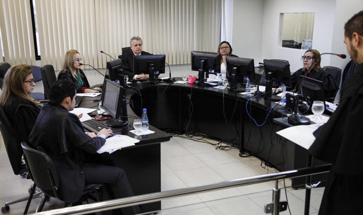 Manaus, 11/02/2019. Sessão da 1ª Câmara Cível.  Foto: Raphael Alves
