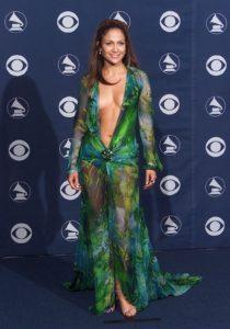Mandatory Credit: Photo by Charbonneau/BEI/REX/Shutterstock (397833c) Jennifer Lopez 42ND GRAMMY AWARDS AT THE STAPLES CENTRE, LOS ANGELES, AMERICA - 23 FEB 2000
